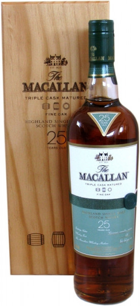 Macallan 25 Jahre Fine Oak Single Malt Whisky