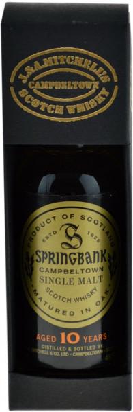 Springbank Whisky 10 Jahre Miniatur