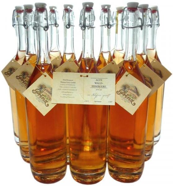 12 Flaschen Prinz Alte Waldhimbeere 0,5l - im Holzfass gereift aus Österreich