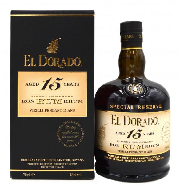 El Dorado 15 Jahre Rum
