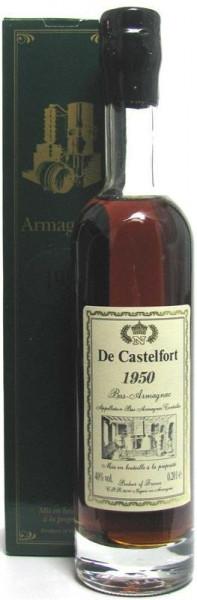 Armagnac De Castelfort Jahrgang 1950 abgefüllt im Jahr 2015 - 65 Jahre im Fass gelagert