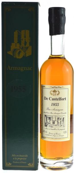 De Castelfort Armagnac Jahrgang 1955 - abgefüllt 2015 - 59 Jahre im Fass gelagert