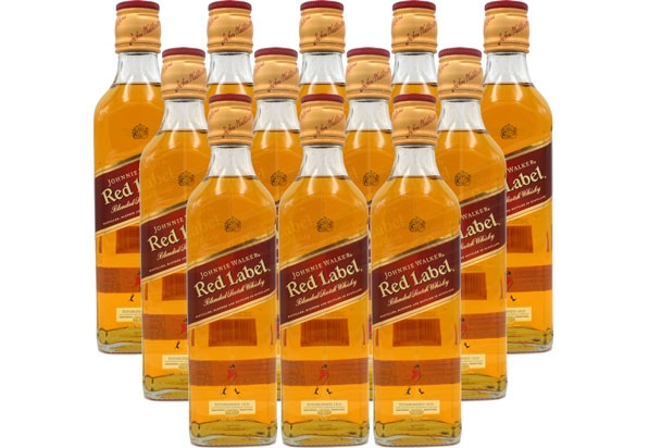 Johnnie Walker Red Label 12x0,05l