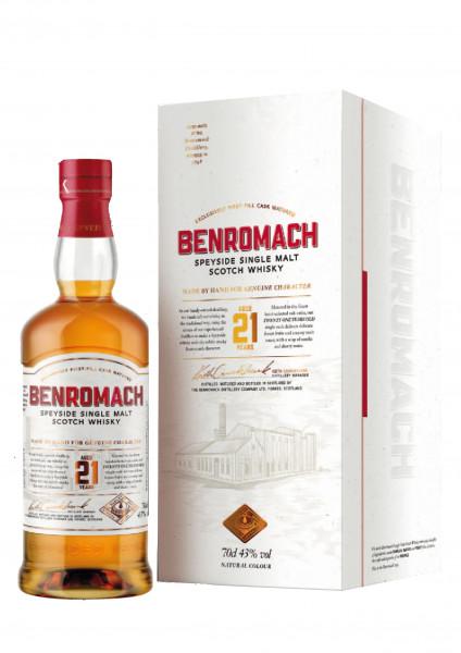 Benromach 21 Jahre 0,7l