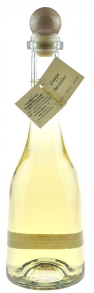 Grappa Bardolino 0,5l fassgelagert in Rustikaflasche - Abfüller Prinz