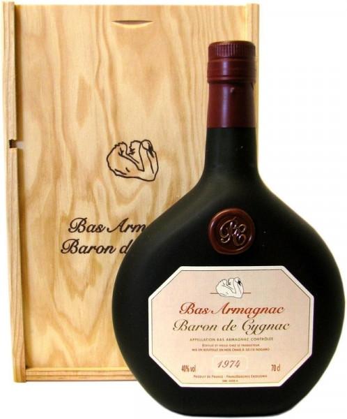 Armagnac Baron de Cygnac Jahrgang 1974