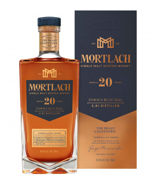 Mortlach Whisky 20 Jahre Cowie's Blue Seal 0,7l