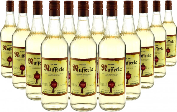 18 Flaschen Prinz Nusserla (Nussschnaps) 1,0l aus Österreich