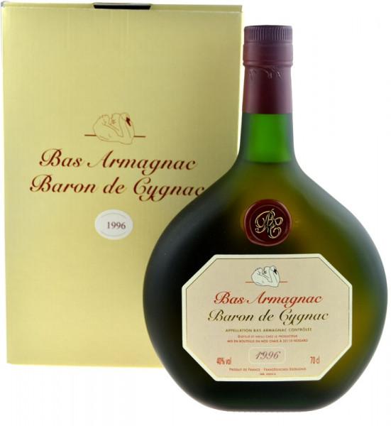 Armagnac Baron de Cygnac 0,7l Jahrgang 1996