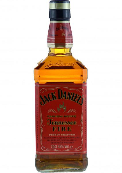 Jack Daniels Fire Whisky-Zimt-Likör