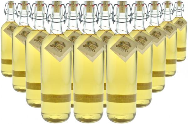 18 Flaschen Prinz Alte Haselnuss (Schnaps) 1,0l - im Holzfass gereift aus Österreich - 3% Rabatt