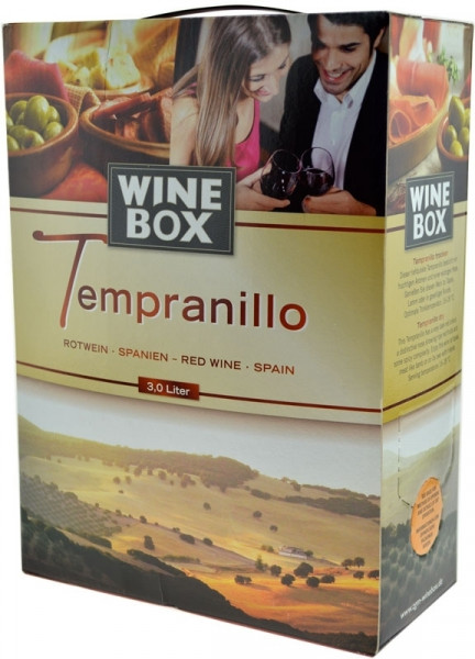Tempranillo Bag in Box Rotwein