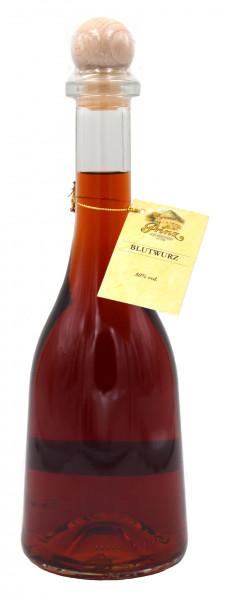 Prinz Blutwurz 0,5l in Rustikaflasche aus Österreich