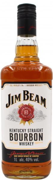 Jim Beam Kentucky Straight Bourbon Whiskey 1,0l