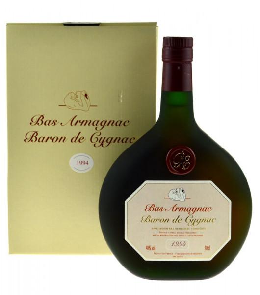 Armagnac Baron de Cygnac 0,7l Jahrgang 1994