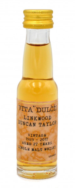 Vita Dulcis Linkwood Whisky 27 Jahre 1989/2017 Octave by Duncan Taylor