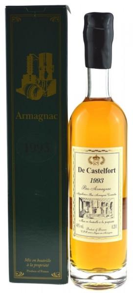 De Castelfort Armagnac Jahrgang 1993 - abgefüllt 2014 - 20 Jahre im Fass gelagert
